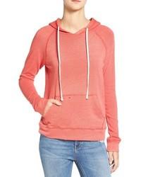 Distressed pullover hoodie medium 1010038