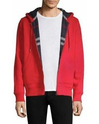 Burberry Fordson Zip Up Hoodie