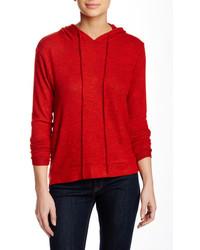 Women's Red Hoodie, Black Short Sleeve Blouse, Black ...