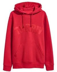 H&M Hooded Sweatshirt With Motif