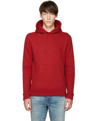 Red fleece hoodie medium 785823