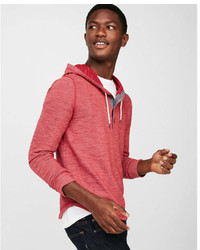 Express Terry Henley Hoodie