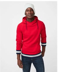 Express Tipped Crossover Hoodie