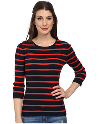Pendleton 34 Sleeve Stripe Pullover