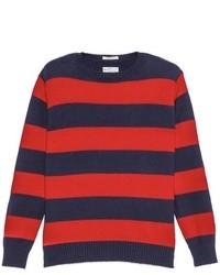 Rugger barstripe sweater medium 19899