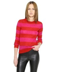 Etoile Isabel Marant Striped Mohair Wool Sweater