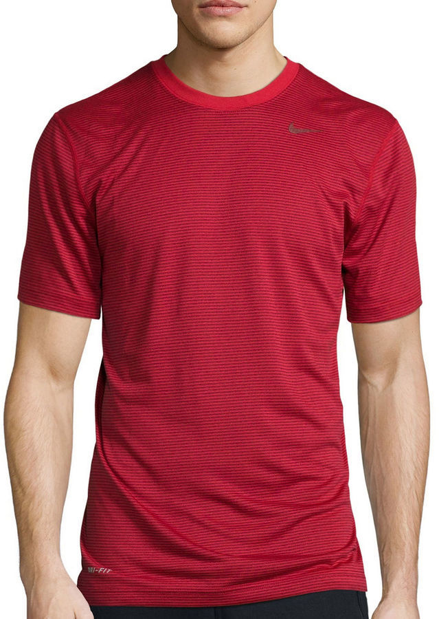 6f28405e2 Nike Dri Fit Touch Short Sleeve Tri Stripe Tee, $35 | jcpenney ...