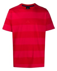 PS Paul Smith Striped Crew Neck T Shirt