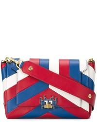 Anya Hindmarch Arcade Stripe Bathurst Crossbody Bag