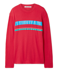 Elizabeth and James Melody Striped Cotton Jersey Top