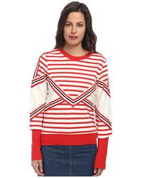 See by Chloe Stripe Ls T Shirt