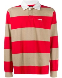 Stussy Striped Polo Shirt