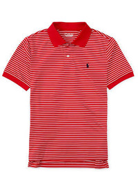 Ralph Lauren Childrenswear Boys 8 20 Performance Active Stripe Polo
