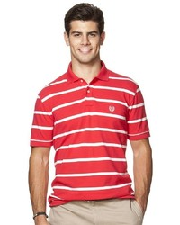 Chaps Classic Fit Striped Stretch Polo