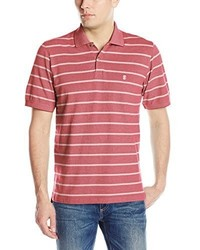 Izod Short Sleeve Newport Oxford Sailor Stripe Polo Shirt