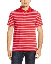 Izod Short Sleeve Windward Cool Interlock Feeder Stripe Polo Shirt