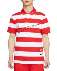 Nike Swoosh Stripe Polo