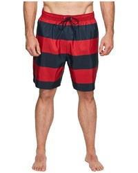 Nautica Big Tall Big Tall Stripe Trunk Swimwear