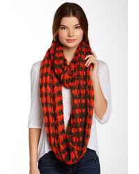 14th union multi houndstooth infinity scarf medium 170095