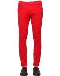 Versus 17cm Slim Fit Cotton Denim Jeans