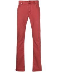 Jacob Cohen Logo Patch Jeans