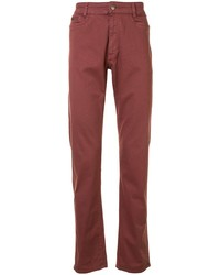 Gieves & Hawkes Mid Rise Straight Jeans