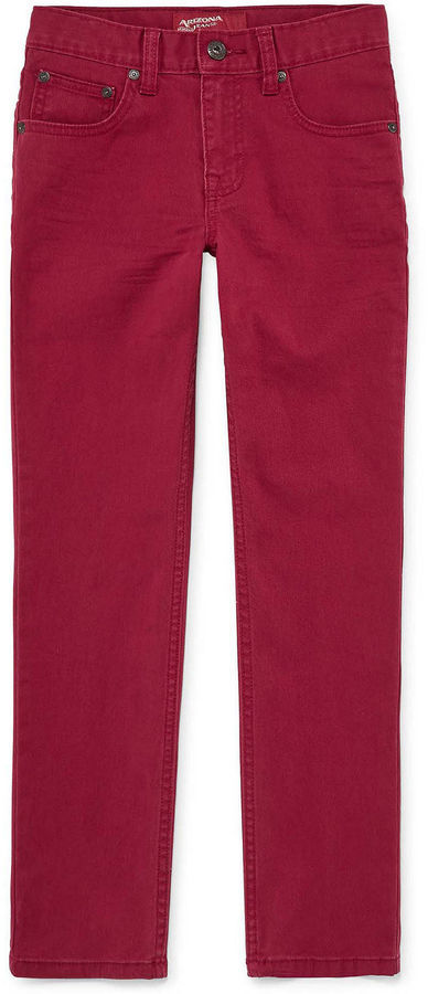0b223532daf ... Arizona Stretch Skinny Jeans Boys 8 20 And Husky