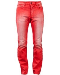 Versace Collection Scratched Stretch Jean