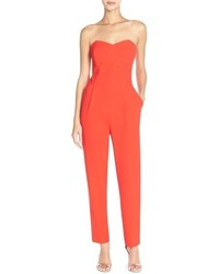 Adelyn r strapless jumpsuit medium 846955