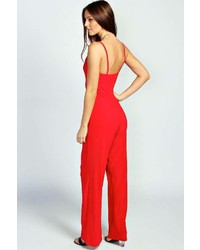 Boohoo Paige Cami Wide Leg Jumpsuit | Where to buy & how to wear