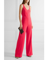 59bce6a59cf6 ... Narciso Rodriguez Cutout Textured Stretch Crepe Jumpsuit ...