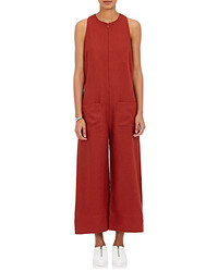 Nomia Linen Crop Wide Leg Jumpsuit