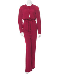 Sonia Rykiel Long Sleeve Crew Neck Jumpsuit
