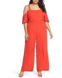 Plus size off the shoulder jumpsuit medium 3773016