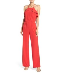 Ruffle halter jumpsuit medium 1006110