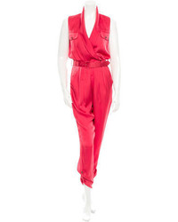Rachel Zoe Silk Jumpsuit
