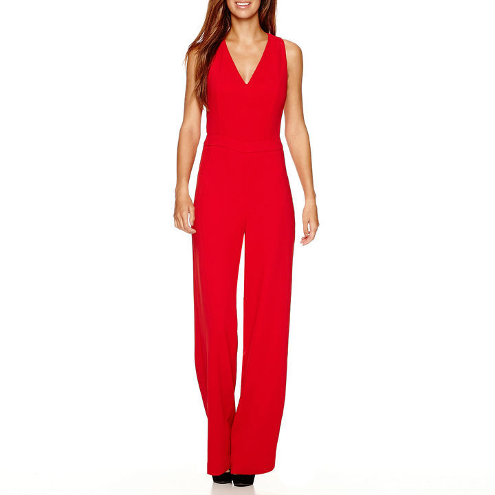 MNG by Mango Sleeveless Cross Back Jumpsuit   Where to buy & how ...