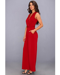 Vince Camuto V Neck Faux Wrapjersey Jumpsuit Where To Buy How To