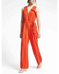 Banana Republic Wrap Front Jumpsuit