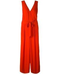 Maison Margiela Wrap Style Sleeveless Jumpsuit
