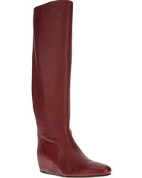 Red knee high boots original 1549311