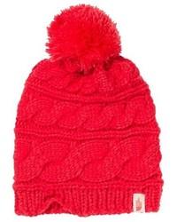 Red Knit Beanie
