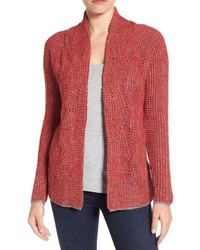 Nic zoe mixed stitch cardigan medium 3670661