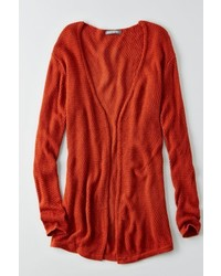 American Eagle Outfitters O Dont Ask Why Waffle Knit Cardigan