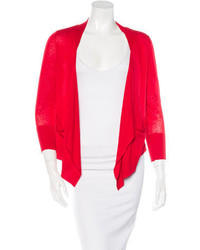 Silk open front cardigan medium 3670654