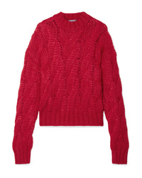 Prada Cable Knit Sweater