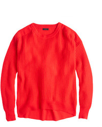 J.Crew Collection Cashmere Oversize Ribbed Sweater