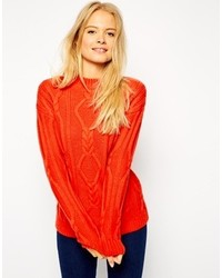 Asos Collection Oversized Cable Sweater