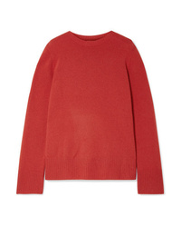 The Row Sibel Oversized Wool And Cashmere Blend Sweater