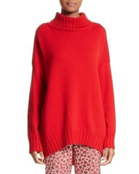 Virgin wool turtleneck sweater medium 5387672